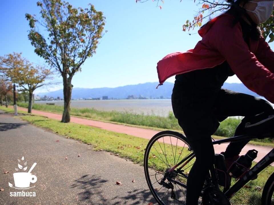 諏訪湖サイクリング、おすすめです!